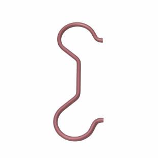 Raumgestalt Wohndesign: zweiseitiger Kleiderhaken ANNA von Raumgestalt. Design Kleiderhaken aus eloxiertem Aluminium.