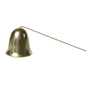 Messingglöckchen am Stab von Raumgestalt. Traditionell in Deutschland hergestellt. Nikolaus, Christkind, Weihnachtsmann Glocke.