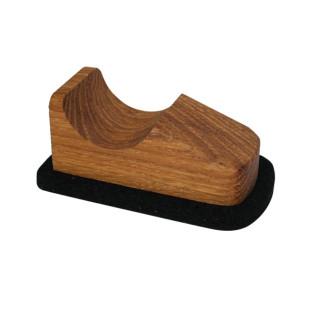Scooter von Raumgestalt - kleiner Bildschirmreiniger aus Holz mit Filzboden - Modell Eiche.