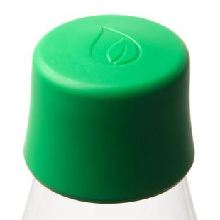Retap Deckel dunkelgrün - passend für alle Design-Trinkflaschen von Retap (strong green).