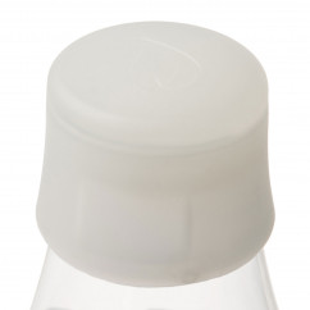 Retap Deckel frosted weiss - passend für alle Design-Trinkflaschen von Retap.