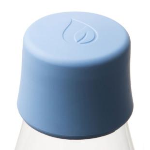 Retap Deckel hellblau - passend für alle Design-Trinkflaschen von Retap (Baby Blue).
