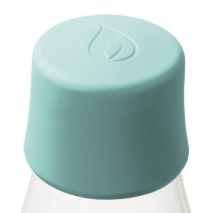 Ersatzdeckel für Glasflaschen von Retap. Deckel in mint blau.