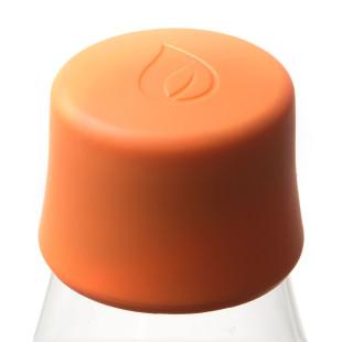 Retap Deckel orange - passend für alle Design-Trinkflaschen von Retap.