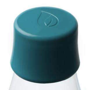 Ersatzdeckel für Glasflaschen von Retap. Deckel in petroleum green.