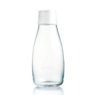 Trinkflasche 0,3 l true weiß
