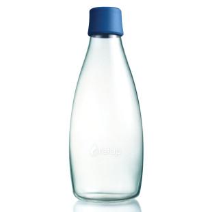 Trinkflasche 0,8l dunkelblau