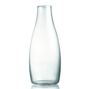 Retap Trinkflasche aus Glas 0,5 L ohne Deckel.
