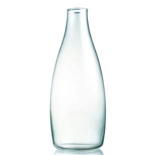 Retap Trinkflasche aus Glas 0,8 L ohne Deckel.