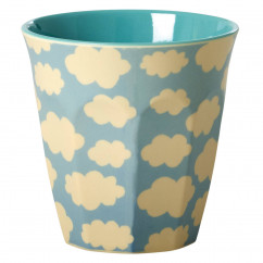 Melamin Becher Cloud Print