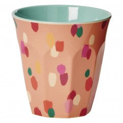 Becher Coral Dapper Dot Print von Rice Denmark