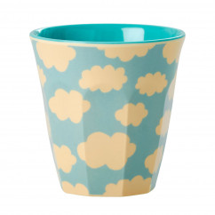 Melamin Kinderbecher CLOUD Wolke, blau