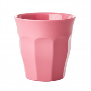 Kinderbecher RICE - Trinkbecher klein aus Melamin - Kunststoffbecher pink - Becher small MELCU - BPA-frei, robust, stapelbar, spülmaschinengeeignet - RICE Denmark