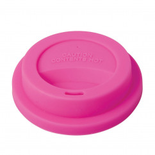 Silikon Deckel für Melaminbecher, pink