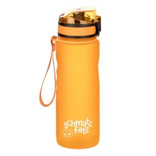 Kindertrinkflasche 500 ml orange, 1-Klick-Verschluss, auslaufsicher