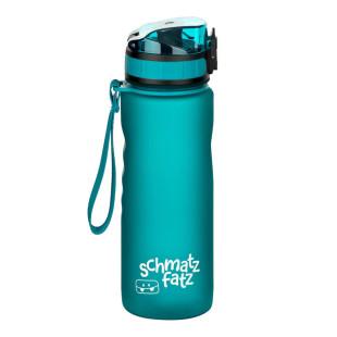 Kindertrinkflasche 500 ml petrolblau, 1-Klick-Verschluss, auslaufsicher