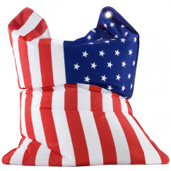 Sitzsack Fashion Bull USA Stars & Stripes