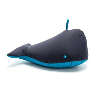 Sitztier Wal dunkelblau - Sitzsack Walfisch von Sitting Bull - Kinderzimmer - Sitzsack Happy Zoo Wal - Spieltier - Sitzhocker