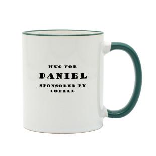 Kaffeetasse COFFEE HUG mit Namen