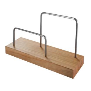Briefständer Kirschholz - Steinhöringer Werkstätten. Design Büroablage aus Holz. Briefhalter aus Behindertenwerkstatt.