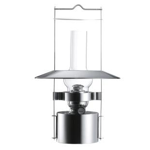 Schiffslampe Edelstahl von Stelton. Große Design Petroleumlampe. Outdoor Öllampe zum Aufhängen.