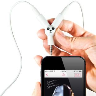 Kopfhörer / Audio Splitter Jack Rabbit