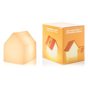 Haus Tischlampe Bookrest Lamp USB - SUCK UK. Buchablage und Tischlampe in Hausform mit LED Technik.