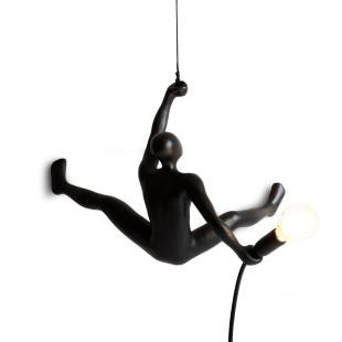 Designleuchte Tänzer -  Wandlampe CLIMBER Lamp by Werkwaardig Design. Leuchte Skulptur.