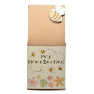 DIY Bienenhotel aus Naturpappe von Wunderle. Bienenhaus aus Pappe zum selber Gestalten.