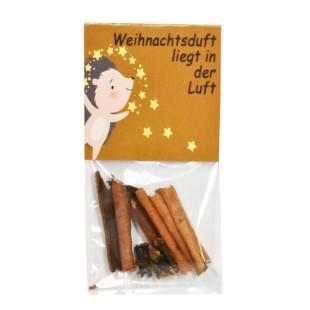 Mini Weihnachtstüte mit natürlichem Weihnachtsduft. Nettes Geschenk zur Weihnachtszeit oder zum Befüllen für den Adventskalender