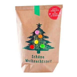 Tüte für eine schöne Weihnachtszeit! Braune Wundertüte - Schöne Weihnachtszeit. Geschenktüte nett befüllt!