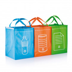 3tlg. Recycling Set / Waste Bags