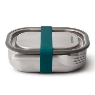 Lunchbox mit Gabel 0,6 l Edelstahl, ocean