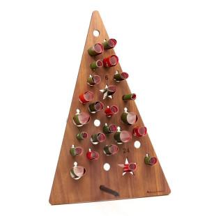 Adventskalender Adventsbaum Nussbaum