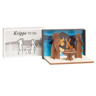 Steckfiguren Mini Weihnachtskrippe