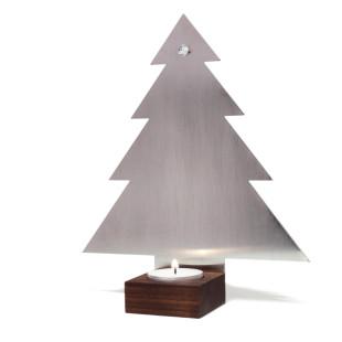 Tannenbaum-Teelichthalter Baumblaker 17 cm