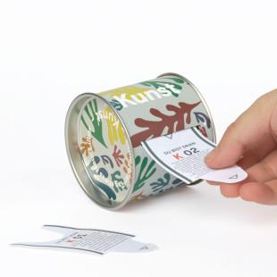 100 Tickets voller Wissen über Kunst (spannende Fakten, kreative Geschichten, ...) von DOIY Design: Dose mit Tickets um jeden Tag etwas Neues zu Lernen.