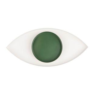 Schale in Form eines Auges - THE EYE in grün/weiß  ➤ für Schlüssel, Kleingeld, Schmuck ... THE EYE grün doiy design.