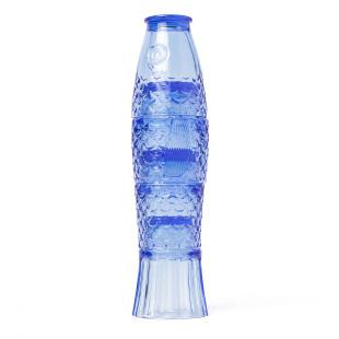 Einzigartiges Design verspricht das blaue, 4-teilige Gläserset Koifisch von doiy design.