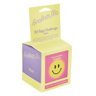 30 Tage Challenge - Glück - DOIY Design. Lustiger Zettelblock mit Glücksbotschaften.