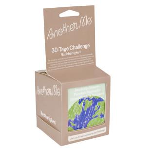 30-Tage Go-Green-Challenge Nachhaltigkeit von Doiy Design. 30 Tage je eine umweltfreundliche Aktivität.