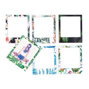 Polaframes, magetische Bilderrahmen mit Tropical Print, 6er Set
