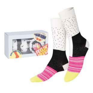 Sushi Socken MAKI SOCKS, Californian Rolls. Die lustigen Fashionsocken von Doiy Design.