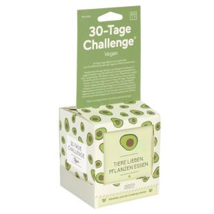 30 Tage Challenge VEGAN von DOIY Design: 30 Tage je 1 Aktivität, um die Köstlichkeiten der Veganen Welt zu entdecken.