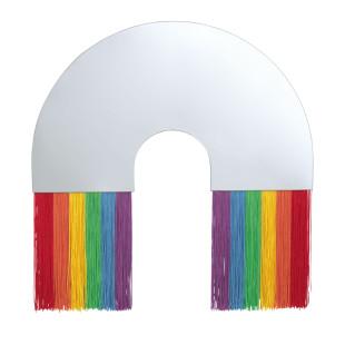 Design Wandspiegel RAINBOW L von DOIY Design. Großer, bunter DOIY Regenbogen Wandspiegel, Make-Up Spiegel, Dekospiegel, ...