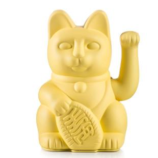 Glückskatze / Winkekatze gelb