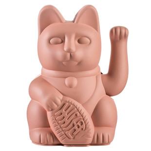 Glücksbringer Winkekatze pink - Glück, Romantik, Liebe - Maneki Neko Glückskatze von Donkey Products.
