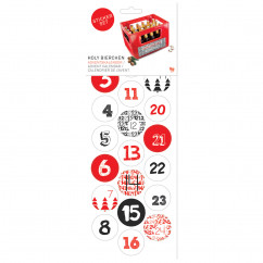Holy Bierchen - Adventskalender Stickerbogen