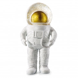Glitzerkugeln / Schneekugel Astronaut weiß-gold. Summerglobe The Astronaut - donkey products