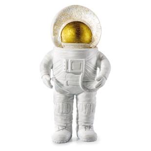 Große Glitzerkugelfigur THE GIANT Astronaut: coole, große Astronauten-Schneekugel-Figur von Donkey.